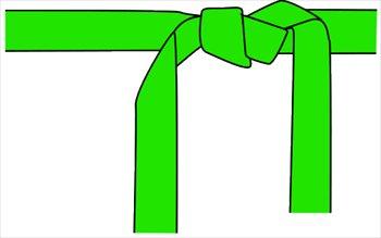 karate-belt-green